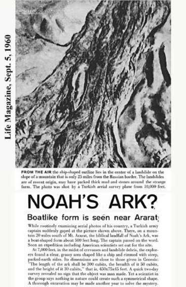 WARNING!!!  Kapal nabi Nuh berhasil ditemukan